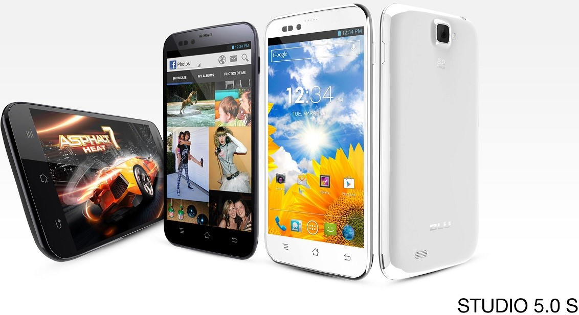 Blu Studio 5.0, 5.0S and 5.3 S Smartphones