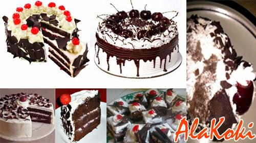 Resep Membuat Kue Black Forest Cake Lebaran