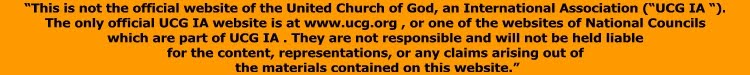 Click below to go to the official website of the United Church of God