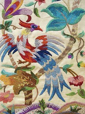Разновидность вышивки Crewel