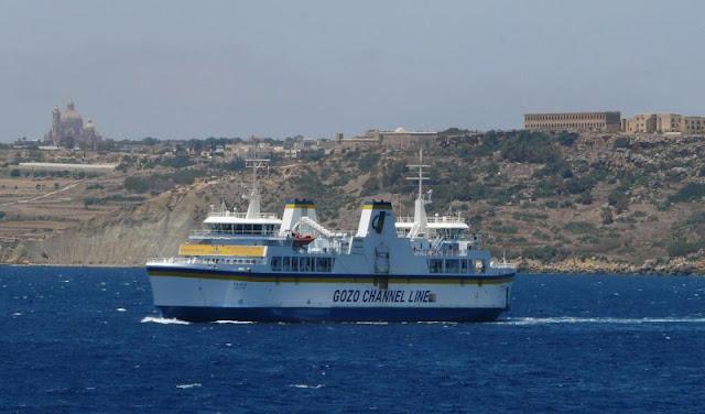 Gozo Channel Line, prom z Malty na Gozo