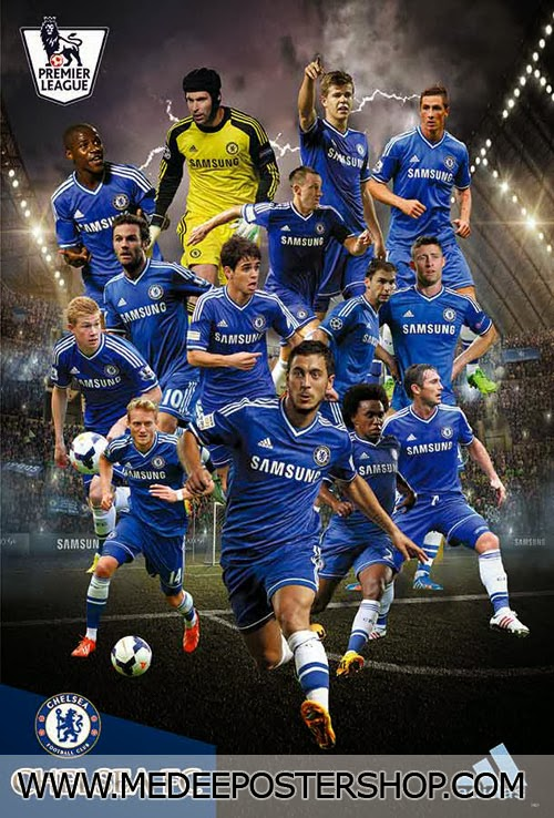 Chelsea 2014 Poster