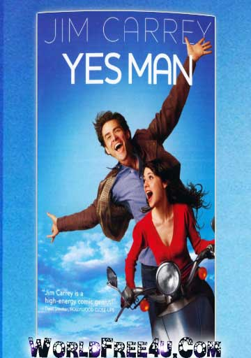 Poster Of Yes Man (2008) Full Movie Hindi Dubbed Free Download Watch Online At worldfree4u.com