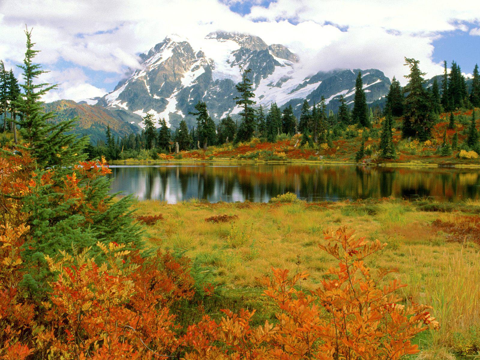gambar paling alami pemandangan alam .