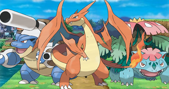Irsyad 39 s way pokemon x and y kanto starter mega evolution trailer - Pokemon y mega evolution ...
