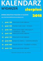 Kalendarz wydarzeń - sierpień