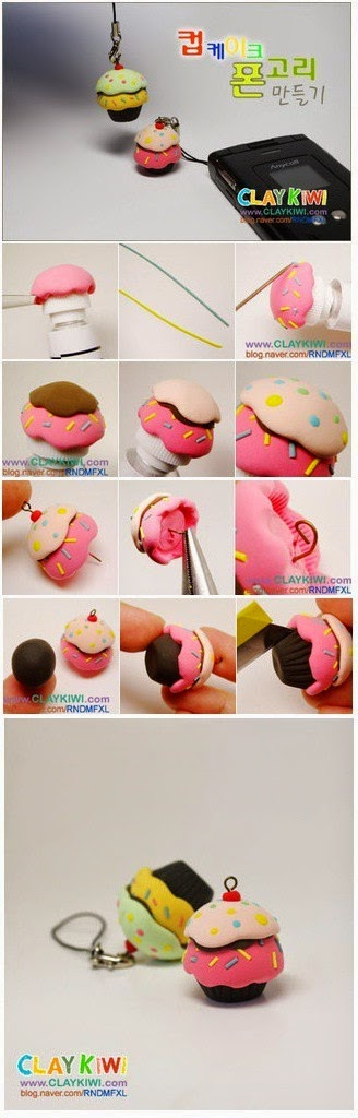 Polymer Clay Cupcake Tutorial