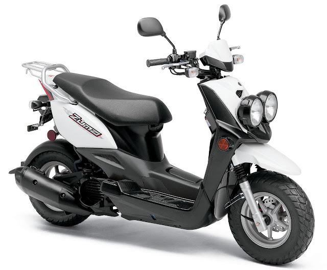 2012-Yamaha-Zuma-50F-White