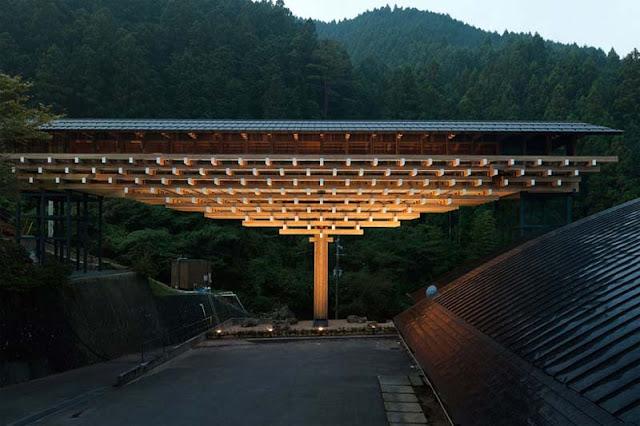 Yusuhara Wooden-Bridge-Museum-in-Japan