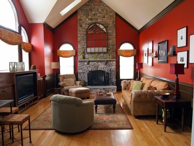 rustic wall paint colors