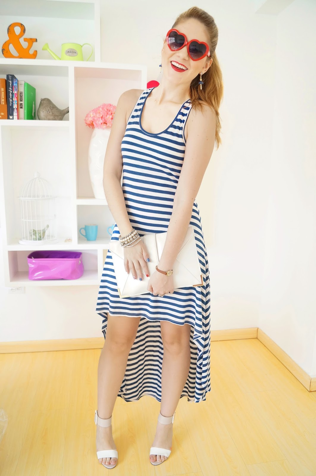 Striped Dress Outfit, Daily Outfits Blog