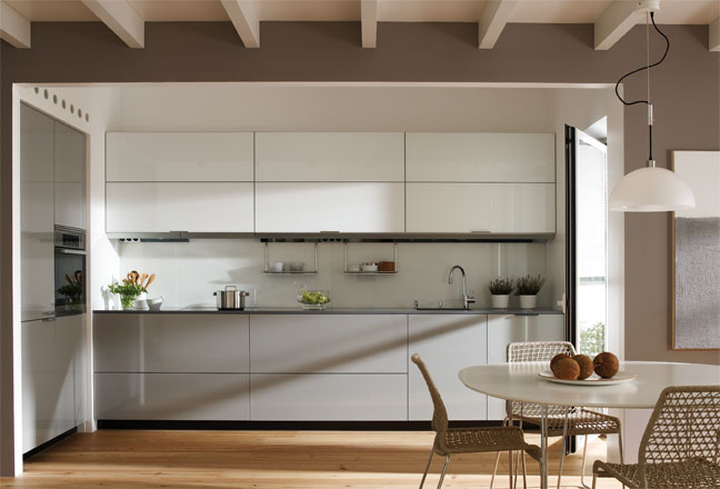Cozinhas mantovani decora o e ideias - Campana extractora sin tubo ...