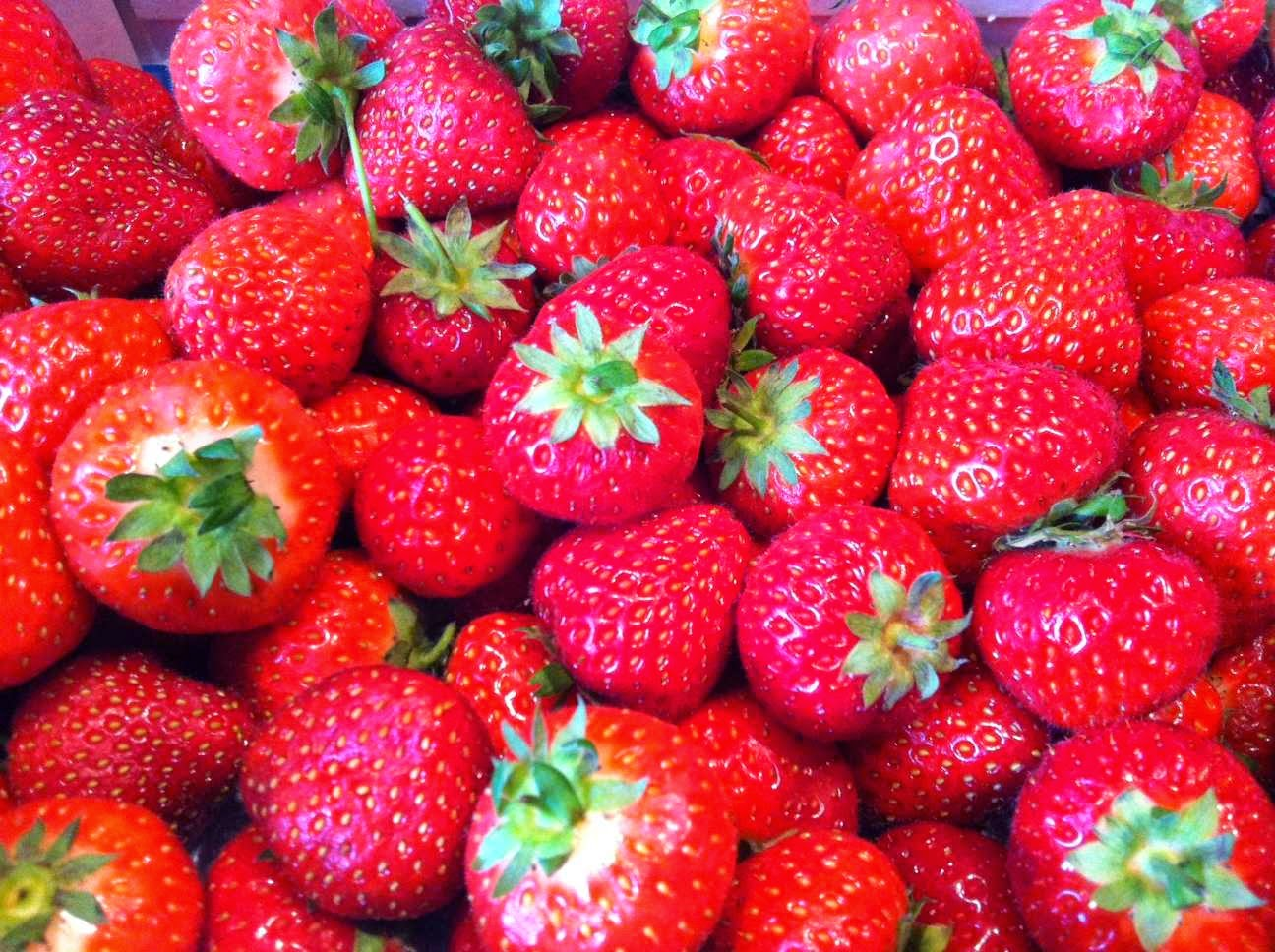 Non-climacteric fruit, such as strawberries, do not continue to ripen once picked