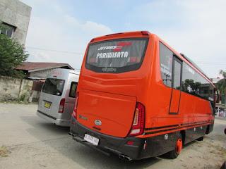 Bus Pariwisata Pekanbaru 135