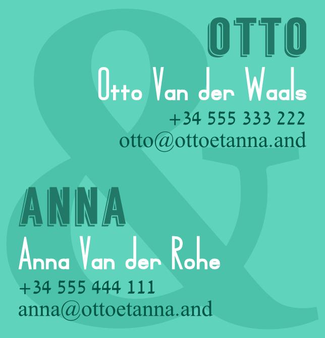 Bárbara Sánchez Portillo - Otto y Anna 3