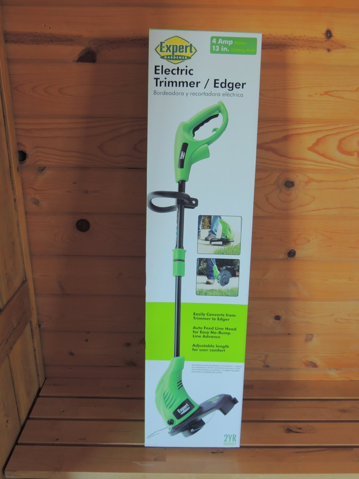 My Homesteading Project Expert Gardener Electric Trimmer Edger
