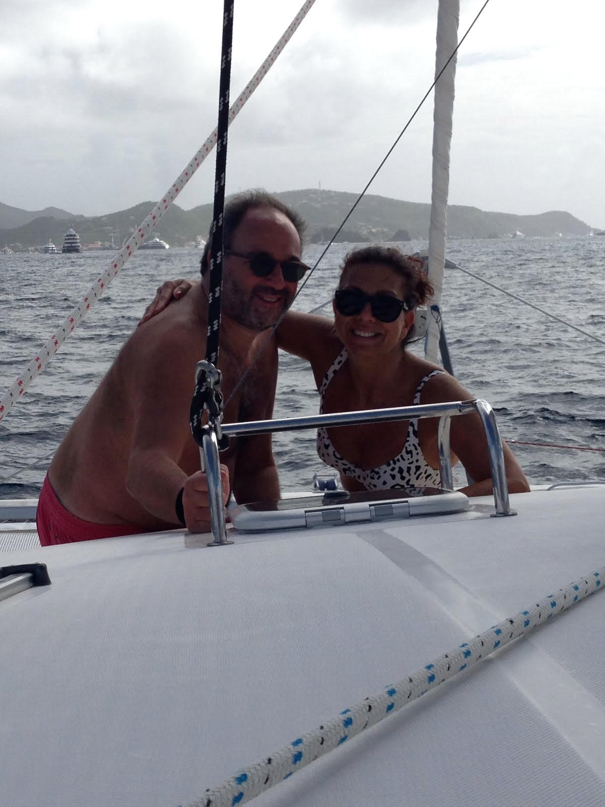 sailing to paradise