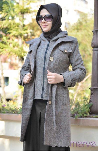 إطلالات أنيقة للمحجبات ، ملابس محجبات 2013