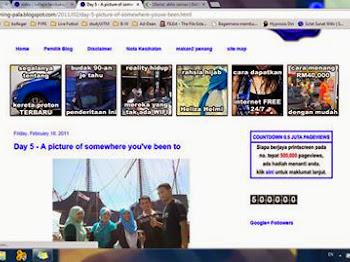 Pemenang Contest Countdown 0.5 Juta Pageviews