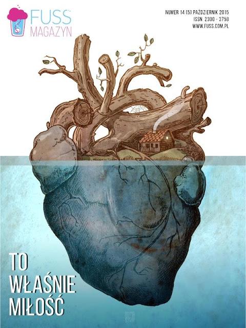 Urbaniak Katarzyna ilustracja fuss okładka serce heart anatomia samotności