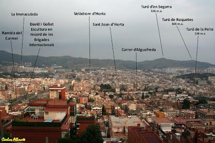 Panoràmica d'Horta des del carrer del Doctor Bové. Autor: Carlos Albacete
