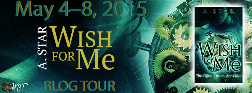 Blog Tour: Wish for Me by A. Star – Character Interview with Irving + Giveaway (INT) #DjinnTour