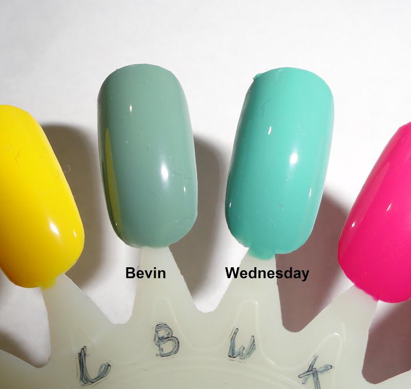 Zoya Bevin Vs Wednesday Nails Never Fails: Nai...