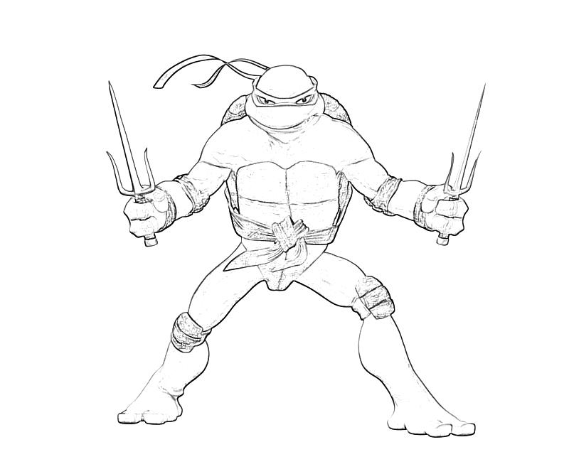 Raphael Coloring Pages Kidsuki