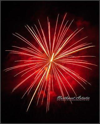 Northwest Artistic Photography, fireworks, Harrison, Idaho, the Beautiful NW