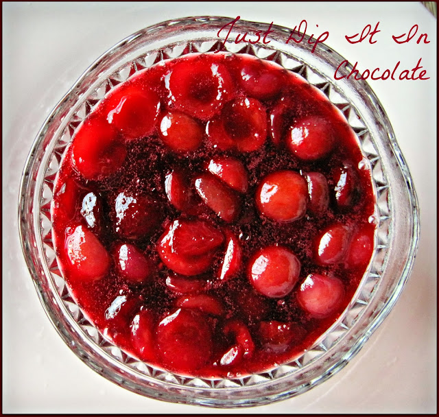 Fresh Cherries and Hibiscus Holiday Sauce Recipe, If you love cherries why not having them all year long, this vibrantly red sweet and tart sauce is as bursting with flavor and it's done in just a few minutes. #holidayfood #cherries #hibiscus #sidedishes