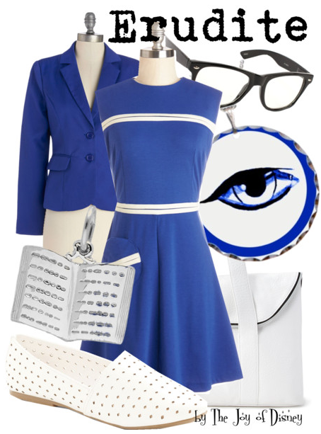 Divergent Erudite Clothing Outfit