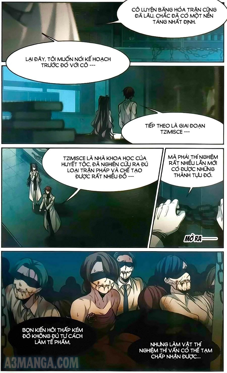 Huyết Tộc Cấm Vực chap 103 page 16 - IZTruyenTranh.com