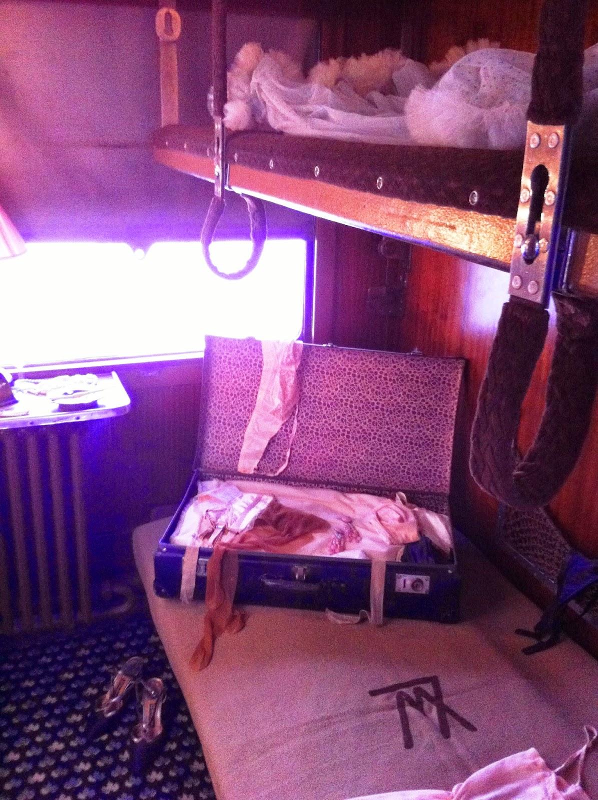 Orient Express cabine Josephine Baker