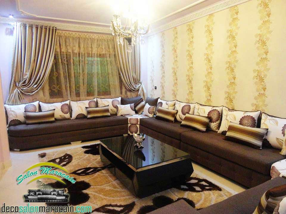 dcoration salon marocain moderne 2015 salon marocain quality - Salon Marocain Sahraoui