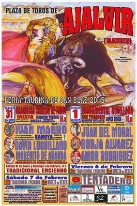 AJALVIR (MADRID) FERIA TAURINA 2015.