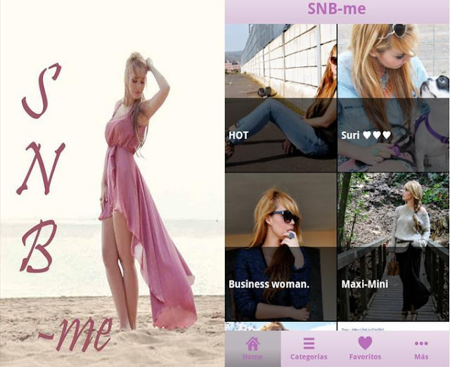 snb , nery hdez, app para blogs
