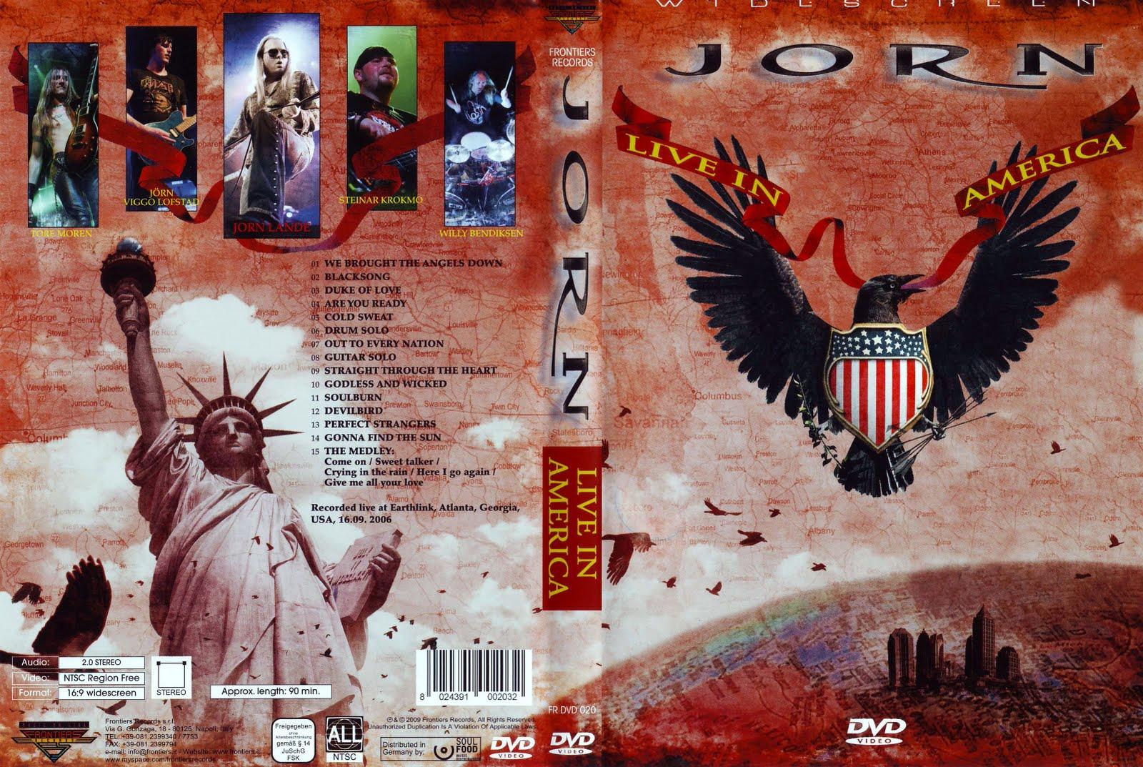 O que se ouve agora? - Página 2 Jorn_-_Live_In_America_-_Cover