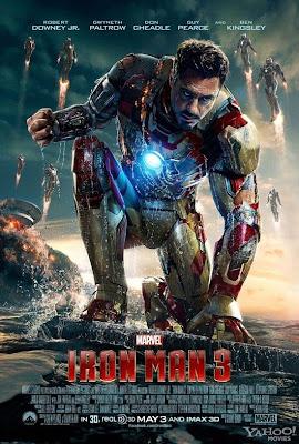 Poster do filme Iron Man 3 ( Homem de Ferro)
