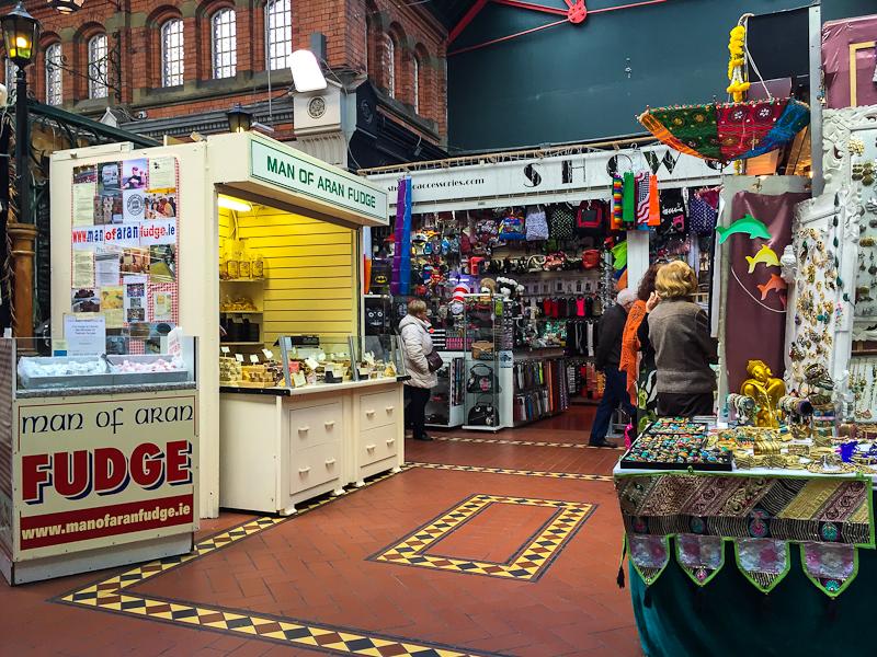 South City Market covered market in Dublin Ireland