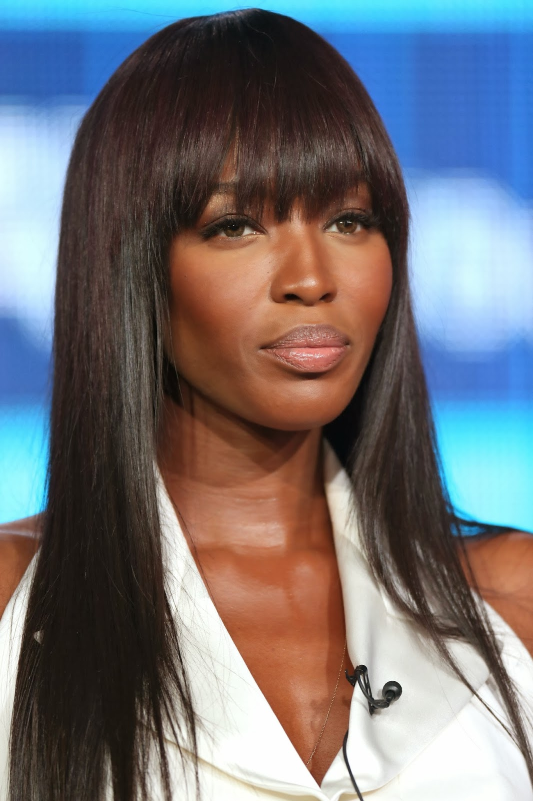 Naomi Campbell Hairstyle Bangs Pictures