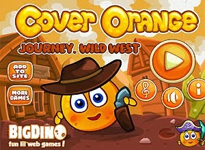Cover Orange Journey Wild West