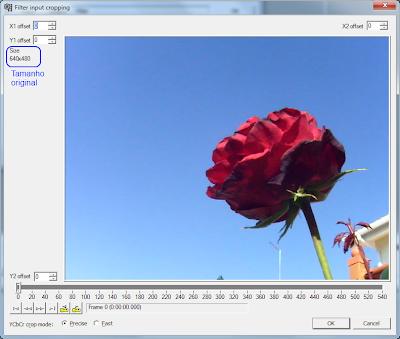 VirtualDub -  corte de video - passo 5