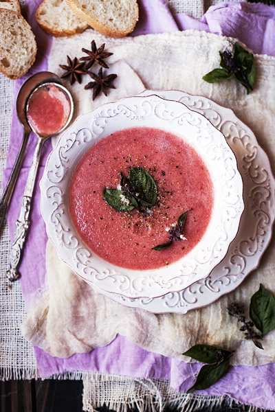 gazpacho di cocomero