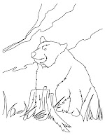 Kodiak Bear Printable Kids Coloring Pages Free