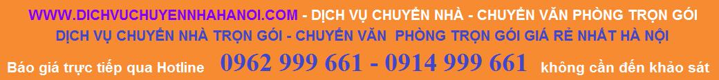 Dịch vụ chuyển nhà - Chuyển văn phòng trọn gói Phát Đạt 0962 999 661 - 0914 999 661