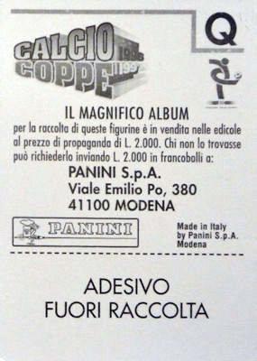 PUGILATO-Rec USA CURRY SUPERSPORT 1986-PANINI 86-Figurina n.145