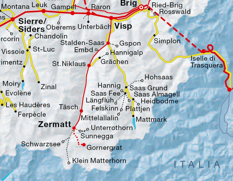 Midas Food n Travel Blog Getting around on the Swiss Travel – Swiss Travel System Map