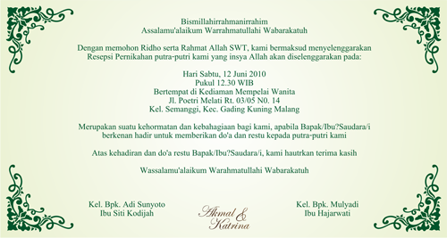 Weddings Invitations with good invitation example