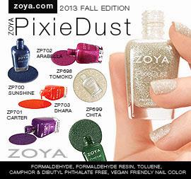 Zoya Nail Polish: PixieDust Fall