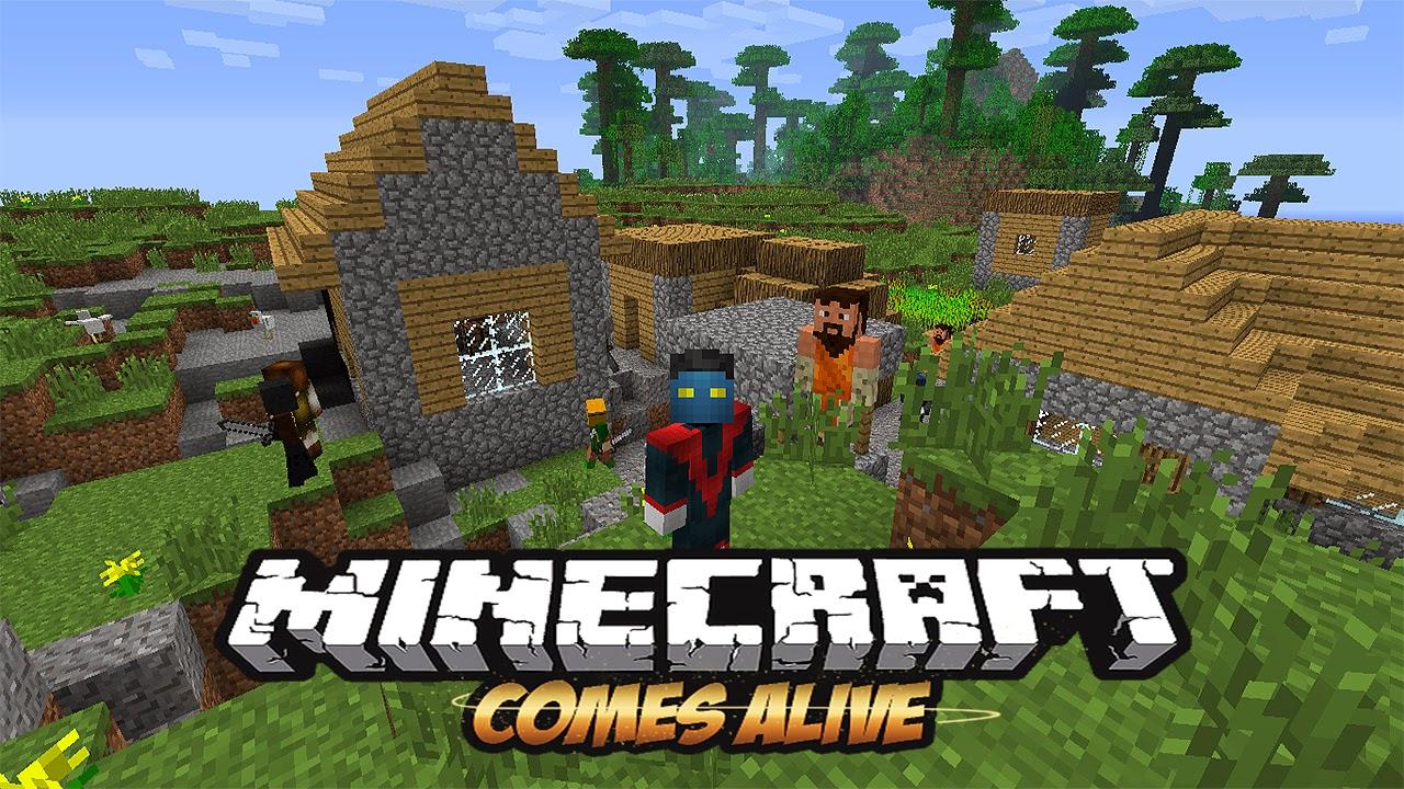 Minecraft Comes Alive 1.8